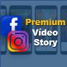 Premium Facebook & Instagram Vídeo Story - Social Content