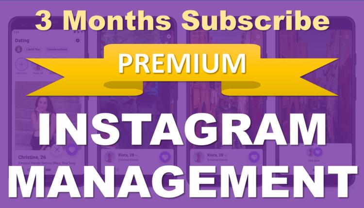 Instagram_Managemente_Subscribe_3_Months