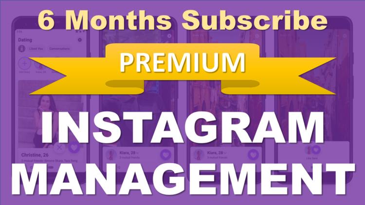 Instagram_Managemente_Subscribe_6_Months